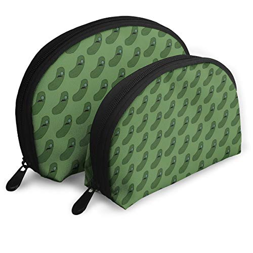 ElephantAN Cool Cucumber Pickles Multifunction Shell Portable Bags,Storage Bag,Buggy Bag,Travel Cosmetic Bags,Small Makeup Clutch,Pouch Cosmetic,Toiletries Organizer Bag