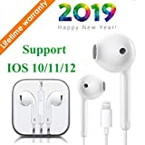 Kacul Lighting Headphones Magnetic Earbuds Earphones For Sports  With Mic Noise Cancelling Compatible With iPhone Xs Max/XR/X/8/7 Plus Barlow Lenses