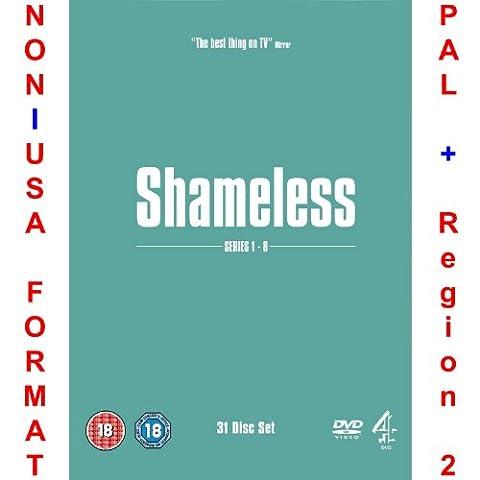 Shameless - Complete Series/Season 1-8 Uncut Original British Version [NON-U.S.A. FORMAT: PAL + REGION 2 + U.K. (Shameless Complete Series Dvd)