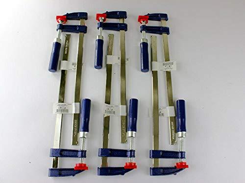 6 x Schraubzwinge Set 300x50 Zwinge Leimzwinge Klemmzwinge Einhandzwinge