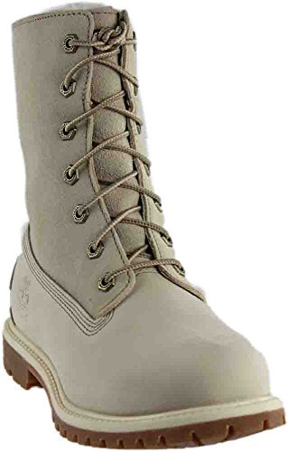 Timberland Teddy Fleece Women's Boot 8.5 B(M) US Winter White by Timberland