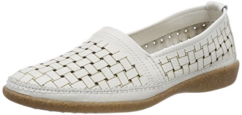 slipper Weiß White 942185 Damen 3 Comfortabel qF0U77