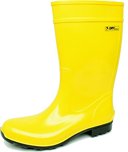 BOCKSTIEGEL® LUISA - Botas de Goma con Estilo | Mujer | Tallas: 36-42 Yellow / DK - Blue