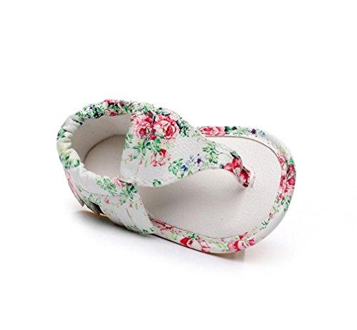 Baby Mädchen Jungen Kinder Boy Girls Sommer Sport Sandale Schuhe Rutschfest Lauflernschuhe Krippe hohler Schuh-Turnschuh durch cinnamou Mehrfarbig