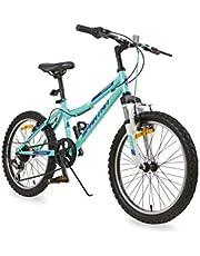 """Spartan 20"""" Azure MTB Bicycle - Teal"""