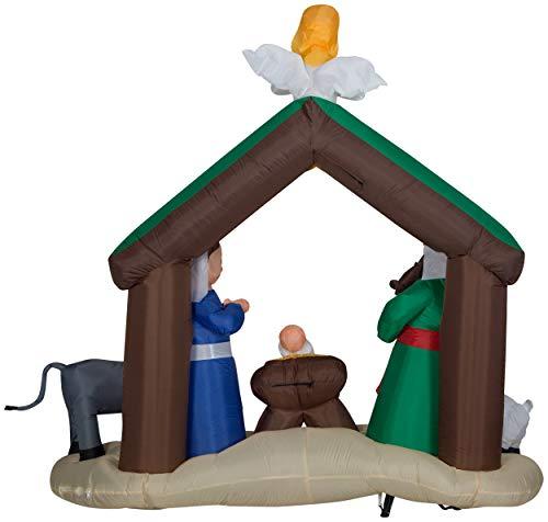 Gemmy 36707 Airblown Nativity Scene Christmas Inflatabl by Gemmy (Image #1)