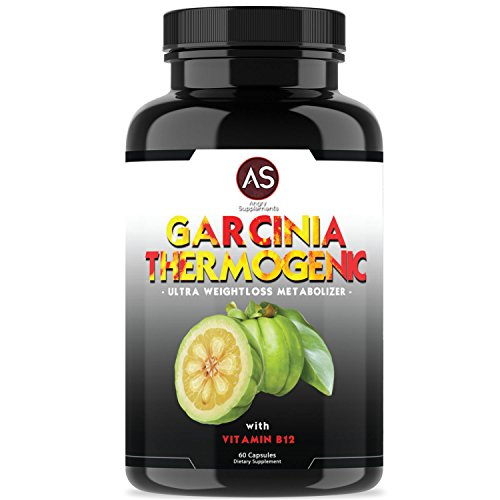 Angry Supplements Garcinia Cambogia Thermogenic Weight Loss Pills for Women & Men - Natural Metabolism Booster - Yerba Mate, Green Tea, & Guarana for Ketogenic Diet - Best Starter Gift (Guarana Green Tea)