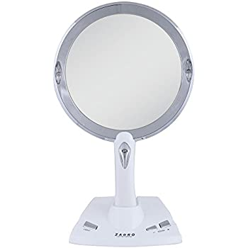Amazon Com Zadro 5x 1x Power Zoom Led Lighted Vanity