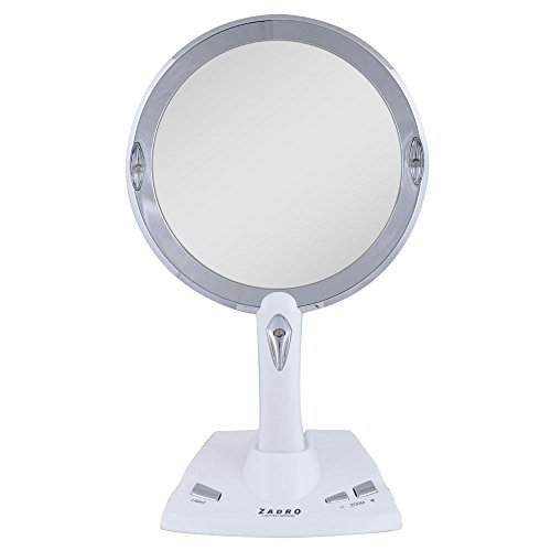 zadro 5x 1x power zoom led lighted vanity mirror zadro beautil. Black Bedroom Furniture Sets. Home Design Ideas