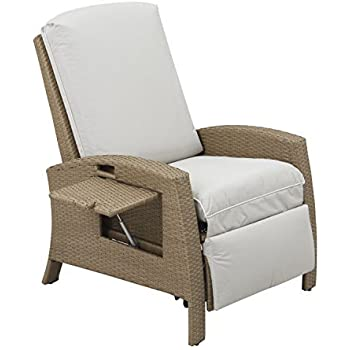 Outsunny Outdoor Rattan Wicker Adjustable Recliner Lounge Chair - Beige and Gray  sc 1 st  Amazon.com & Amazon.com : Outsunny Outdoor Rattan Wicker Adjustable Recliner ... islam-shia.org