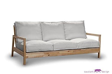 saustark design sylt cover for ikea lillberg 3 seater sofa cream blog