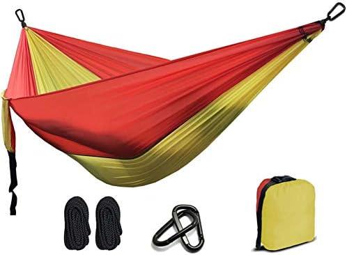 DCKJL Hamaca 2 Personas Hamaca 2019 Camping Supervivencia Jardín Ocio Viajes Doble Persona Paracaídas portátiles Hamacas: Amazon.es: Deportes y aire libre
