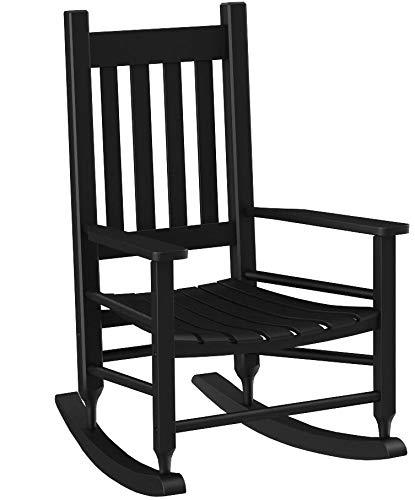 Hinkle Chair Company Plantation Child's Rocking Chair, Black by Hinkle Chair Company
