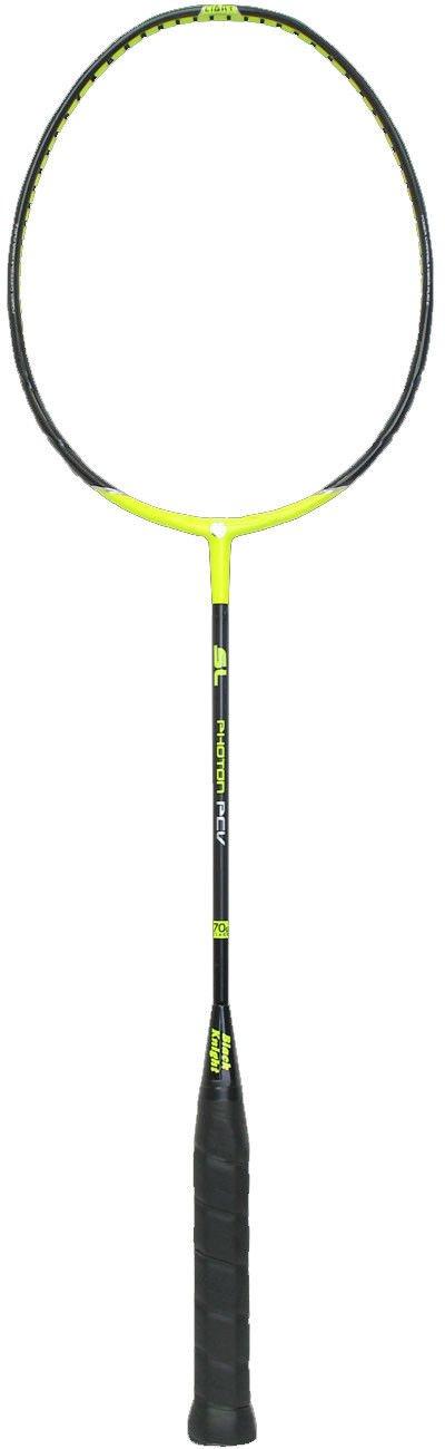 New BLACK KNIGHT PHOTON XL PCV - strung badminton racquet racket - Authorized Dealer