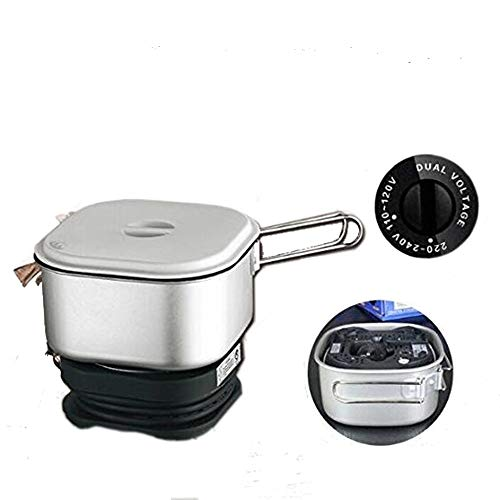 110V/220V Dual Voltage, Worldwide Use, Travel Cooker Portable Mini Electric Multi-pots Machine Hotel Travel Multi Cookers by Onezili