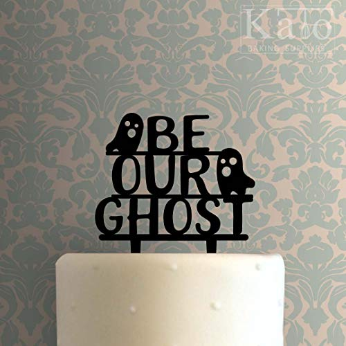 (Be Our Ghost Cake Acrylic Cake Topper Unique Wedding Toppers)