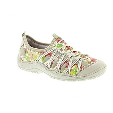 Rieker Damen L0563 Women Low Top Sneaker