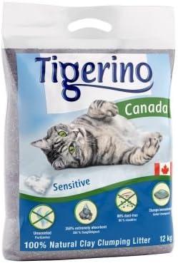 Paquete doble Tigerino Canada Arena para gatos - Sin perfume 2 x 15kg