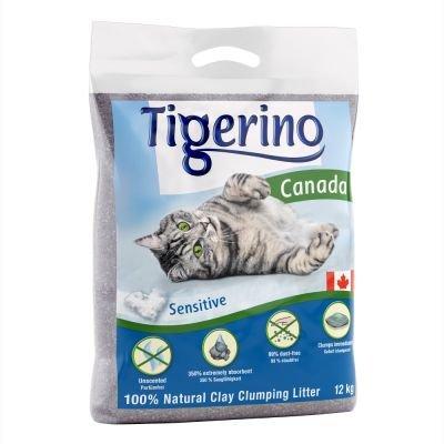 Paquete doble Tigerino Canada Arena para gatos - Sin perfume 2 x 15kg: Amazon.es: Productos para mascotas