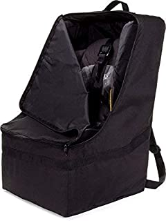 ZOHZO Car Seat Travel Bag Adjustable Padded Backpack For Seats