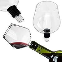 KS-11 Accesorio para botella de vino de cristal de alta calidad con junta de silicona