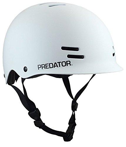 Predator FR7 Certified Skateboard Helmet – Half-Shell Safety Helmet with EPS Foam Liner Fit Kit