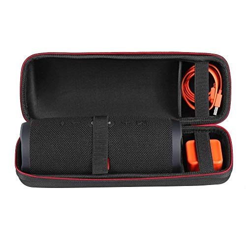 Faylapa Carrying Case for JBL Charge 3 Waterproof Portable Wireless Bluetooth Speaker. Extra Room for Charger and USB Cable