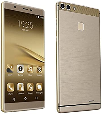 6.0 Unlocked Android 5.1 Smartphone Quad Core Dual SIM 3 G ...