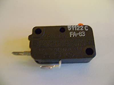 Microwave Oven Door Normally Open Szm-v16-fa-63 Micro Switch