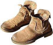 Autumn and Winter Martin Boots Vintage Flat Women's Shoes Plus Velvet Ankle Boots Women