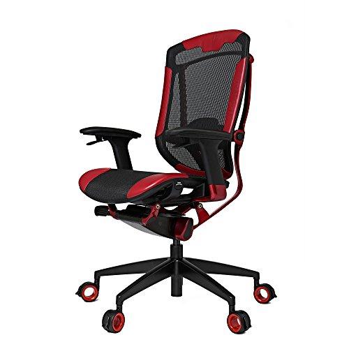 VERTAGEAR Triigger 350 Gaming Chair, Large, Black/Red