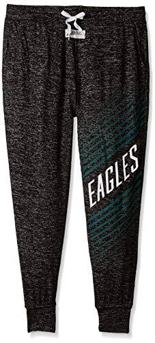 (Zubaz NFL Philadelphia Eagles Female Joggers, Large,)