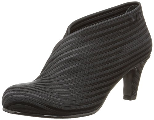 UNITED NUDE Women's Fold Mid Boot, Black, 37 EU/6.5-7 M - United Nude