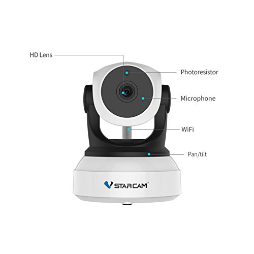 VSTARCAM C7824WIP HD 720P Wireless IP Camera Wifi Night Vision Camera IP Network Camera CCTV WIFI P2P Onvif IP Camera