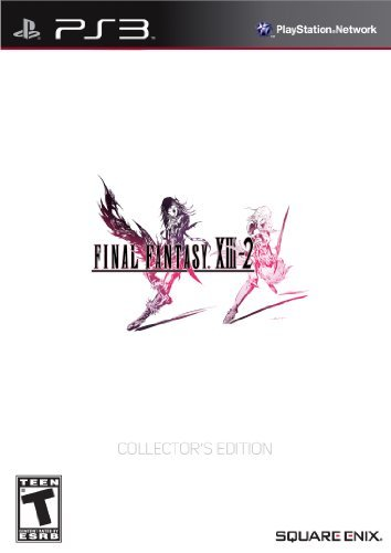 Final Fantasy XIII-2 Collector's Edition - Playstation 3 (Best Final Fantasy For Ps3)