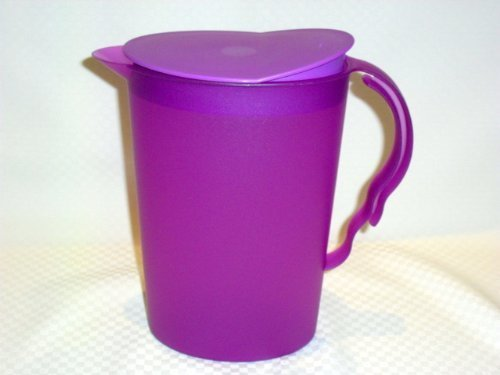Tupperware Impressions 2 Qt Refrigerator Pitcher New Purple by Tupperware