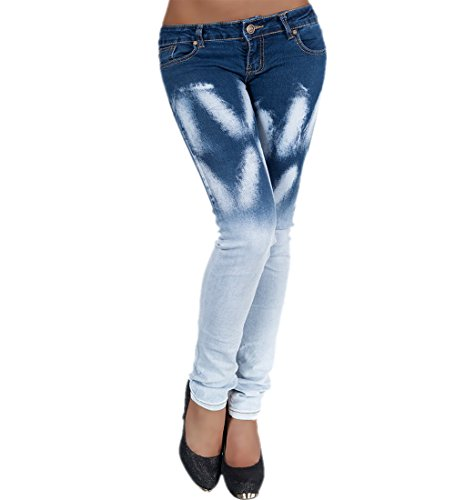Donna Blue Skinny Light Simply Chic Jeans t1qPP4