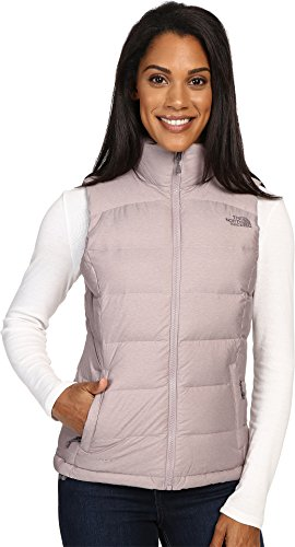 The North Face Women's Nuptse 2 Vest, Quail Grey Heather, (Ultimate Loft Jacket)