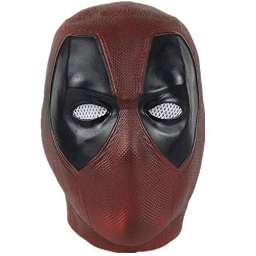 Game Movie DP Cosplay Mask Deluxe Full Head Latex Helmet Cosplay Costume Accessory