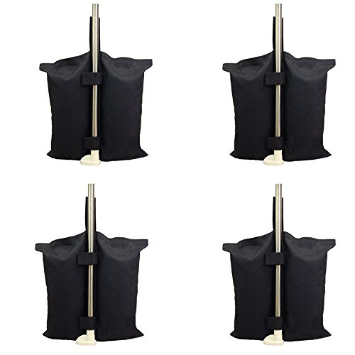 YELAIYEHAO Weights Bag, Leg Weights for Pop up Canopy Tent Weighted Feet Bag Sand Bag 4-PCS/PACK