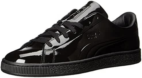 PUMA Men's Basket Classic Patent Emboss Fashion Sneaker