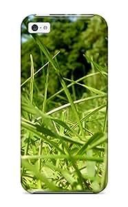New Arrival PYvfHhP47ZGKfh Premium Iphone 5c Case(sun Bathed Grass Beautiful Gren Season Life Beginning Flowers Nature Spring) WANGJING JINDA