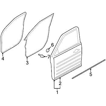 Genuine Toyota 64780-87002-15 Door Trim Board