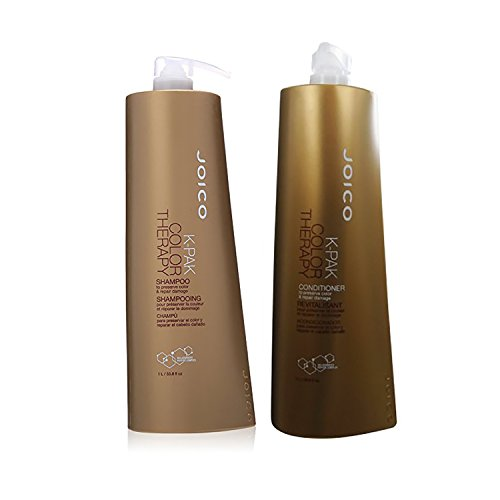 Joico K-Pak Color Therapy Shampoo & Conditioner Liter Duo ()