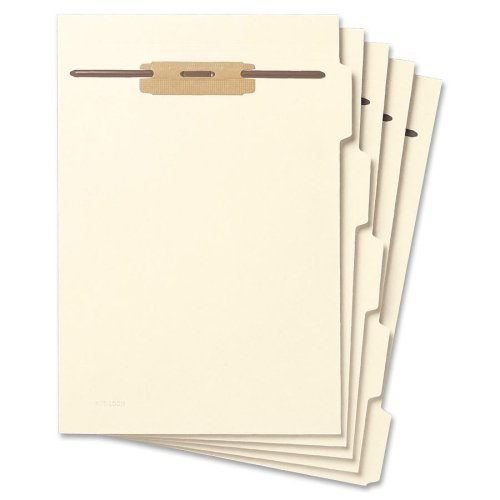 Wholesale CASE of 10 - Smead Side-tab File Folder Dividers w/Hinge Fstnrs-Folder Divider,1/5 AST Side Tab Cut,Letter,50/PK,Manila by MSD Ignition