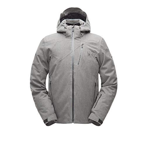 (Spyder Men's Cordin Jacket - Wool Blend Twill/Black - L)