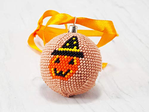 HANDMADE halloween ornaments fall decor ideas holiday table decor office decorations ghost decor for home]()
