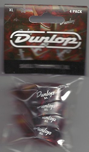 Shell Dunlop (DUNLOP 9024P SHELL THUMBPICKS PACK OF FOUR XL)