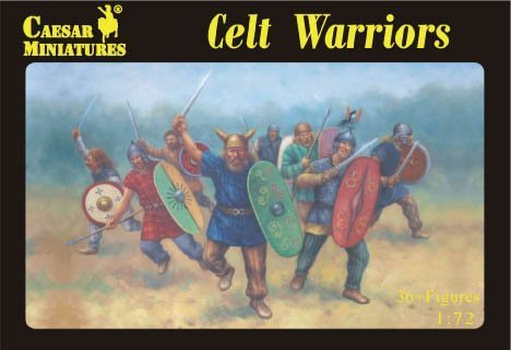 - Caesar Miniatures 1/72 Celt Warriors # 064 by Caesar Miniatures