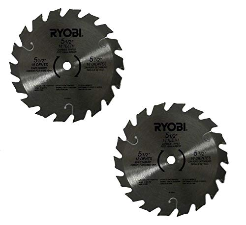 Ryobi 6797329 Pack of 2 Circular Saw Blades - D150 x 1.5MM
